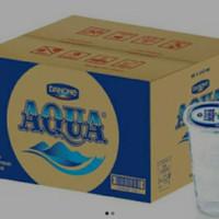 aqua gelas 1 dus ( KHUSUS GOJEK)