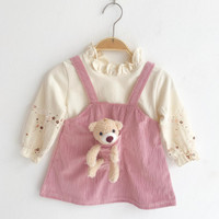 Baju Dress Anak Perempuan Import Katun Adem Fashion Bayi Perempuan 53 - SIZE 5