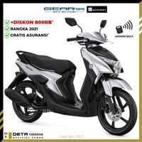 DETA-Yamaha GEAR 125 S (OTR CIREBON) 2021 Sepeda Motor - Silver