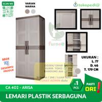 Lemari Plastik Serbaguna | ARISA CA 402 CA402 | Lemari PAKAIAN