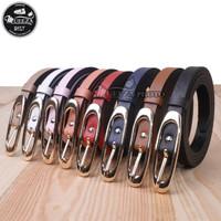 Ikat Ban Pinggang Wanita Fashion Sabuk Kulit PU Women Belt 032 1.5cm