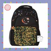 Tas Ransel Anak Smiggle Original Backpack Lunar Black Hitam