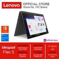 Lenovo IdeaPad Flex 5i Pentium Gold 7505 4Gb 256 SSD W10 Touch - Graphite Grey