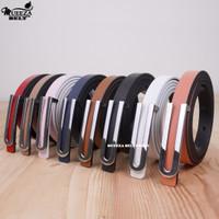 Ikat Ban Pinggang Wanita Cantol Fashion Kulit PU Women Belt 01 1.5cm
