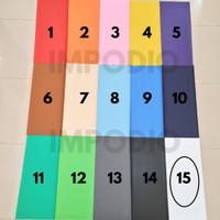 Impodio Background foto warna polos terbaik Ukuran 100cm x 130cm