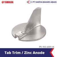 Yamaha Genuine Parts Tab Trim / Zinc Anode 6E5-45371-01