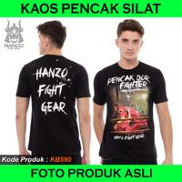 Kaos Pencak Dor Hanzo Fight Gear Original, Kaos Silat Hanzo Fight Gear