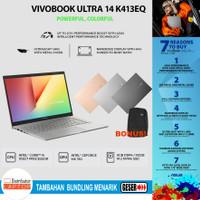 Asus VivoBook i5-1135G7 K413EQ-EB551TS MX350 2GB 8GB RAM 512GB 14 FHD