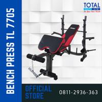 Bench Press TL 7705 Tanpa Stik Tanpa Beban Total Fitness
