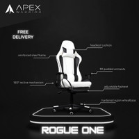 Apex Warrior Rogue One Premium Gaming Chair Kursi Gaming w/ Footrest
