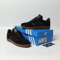 Sepatu Adidas Gazelle Black Gum