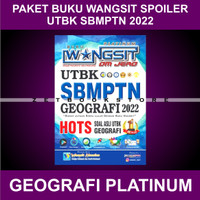 Buku Wangsit 2022 / UTBK SBMPTN 2022 / GEOGRAFI Platinum