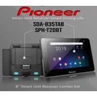 Pioneer Smart SDA-835Tab + SPH-T20BT. Head Unit Android Tab 8 Inchi