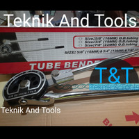 (TT) alat tekuk pipa manual tube bender 5/8 od 16mm 2 1/4R good qualty