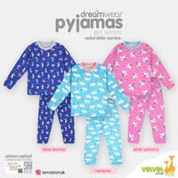 VELVET JUNIOR Piyama Girl - Baju Tidur Anak Size 8 Tahun