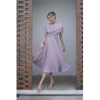 ONYCHA - Carol Pleated Dress Lavender Mist