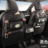 CAR SEAT ORGANIZER KULIT AUTO CAR ORGANIZER LUXURY LEATHER BACK SEAT