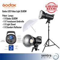 Godox SL60W Video LED Bowens Mount / Godox SL 60W / Godox SL60 W Paket