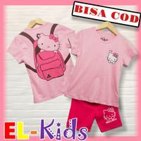 Baju Anak Perempuan/Setelan Anak Perempuan, D&C, Hello Kitty, Ransel