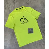 CALVIN KLEIN T Shirt Original Kaos Branded Cowo Pria lengan pendek