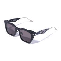 Bape ABC Camo Gold Shark Sunglasses 4 New Collection for man - Hitam