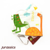 Masker Kain Anak Anak Duckbill Kids 3 Ply / Layer / Lapis Motif Lucu
