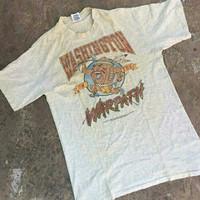 T-Shirt Washington Warpath by LEE Vintage 90s