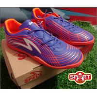 Sepatu Futsal Anak Specs Acc Lightspeed II JR IN Blue 401027 Original
