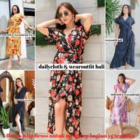 Longdress pantai bali /longdress kimono /baju santai dari bali