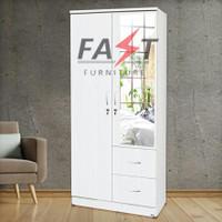 Lemari 2 Pintu Fast Furniture