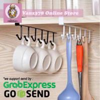 Kitchen utensils hanging storage | Ready Stock | Siap gosend - Hitam