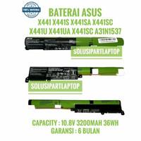 ORIGINAL BATERAI ASUS VIVOBOOK X441 X441S X441SC X441N X441NA A31N1537