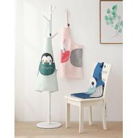 CELEMEK MASAK ANTI AIR / APRON MASAK WATERPROOF / CELEMEK MASAK DEER - Penguin Green