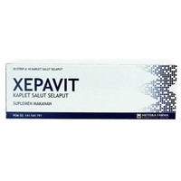Xepavit - Multivitamin dan suplemen - Subtitusi Becom Z, Zegavit