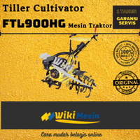 Mesin Bajak Sawah Traktor Mini Tiller Cultivator Firman FTL 900HG