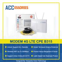 HOME ROUTER Modem CPE B315 4G LTE Unlock ALL Operator Bukan HUAWEI Ya!