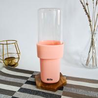 ARAMI Portable Traveling Toothbrush Cup | Tempat Sikat Gigi Travel Set - Pink