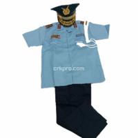 Baju Profesi Cilik / Baju TNI AU Anak / Baju Karnaval / Seragam Cilik