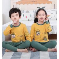 Piyama Baju Anak Import Adem Katun Halus Karakter Bear Size Big Seri 1