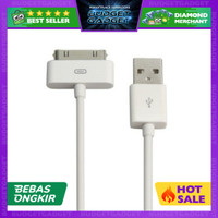 Apple 30 Pin to USB Cable Data for iPhone, iPad, iPod - 1m