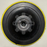 Tatakan Amplas Velcro Gerinda Tangan / Bantalan Amplas 4 Inch