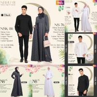 Baju Couple Koko dan Gamis Nibras Haji dan Umroh NBHU 01