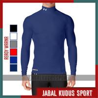 Baju Kaos Daleman Olahraga Baselayer Manset Futsal Bola Gym Unisex