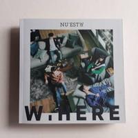 PRELOVED ALBUM NU'EST W - W.HERE (Still Life Ver.) UNSEALED