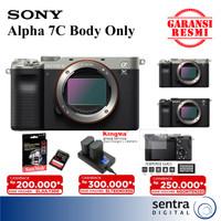 Sony Alpha A7C Sony A7C Sony A 7C Sony A7 C Body Only GARANSI RESMI