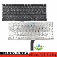 Keyboard Apple Macbook Air 13 Inch A1369 A1466 MQD42LL/A Versi Us
