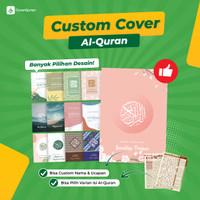Al Quran Custom Cover Terjemah Perkata Latin Tajwid Warna A5