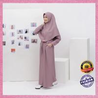 Baju Wanita Muslim Terbaru Kualitas Premium Naisha Kamila Dress - Mocca, AS