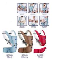 BABY SAFE BABY HIP SEAT NEW BORN - Gendongan bayi 3 in 1#03 - RED