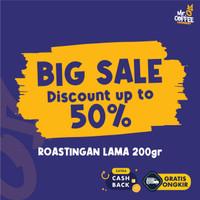 BIG SALE Kopi 200g Roastingan Lama